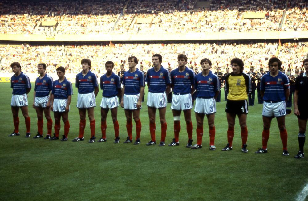 France, Euro '84.Source: Heute