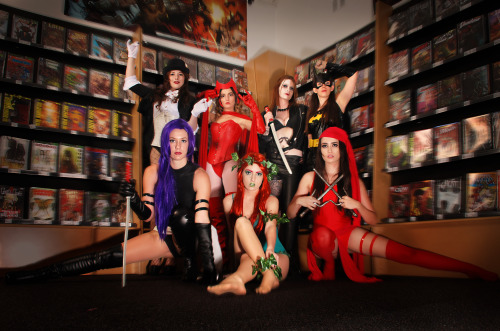 comicbookcosplay:  Super Sexies! Photography: LenswerxCosplay design: EllieChristinaLocation: Comiczone  Submitted by EllieChristina