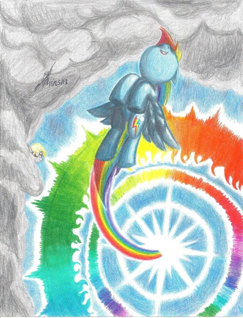 theponyartcollection:  After The Storm… by ~NightShadow154