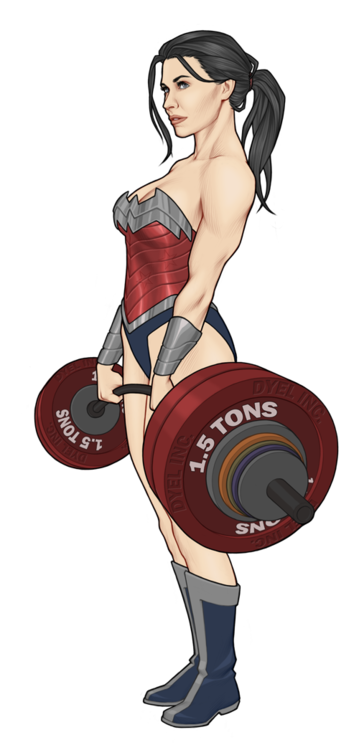 my favorite version of Wonder Woman ever. by Georgel McAwesome