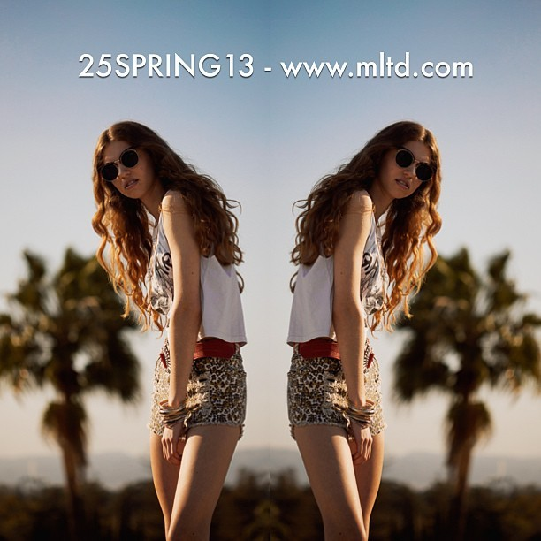 Use code 25SPRING13 at checkout for 25% off your order! Ends tomorrow 🌴www.mltd.com - photo by @xjonstars