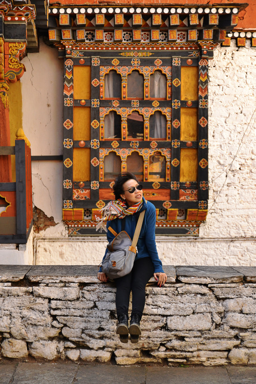 My one and only pose-to-order model, @itsmong. Bhutan, 2012.