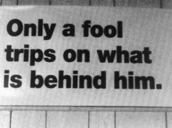 Black and White life sign fool true shit