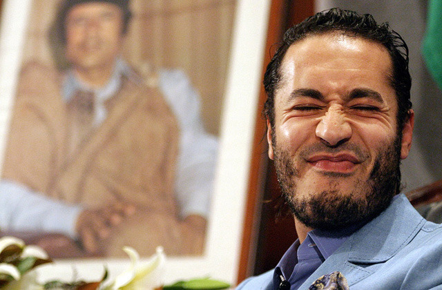 "Saadi Gaddafi is ""a fun guy"" and not a war criminal, says his bodyguard."