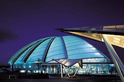 Cool PTFE covered roof using Tensile Fabric Technology  TensileSystems.com