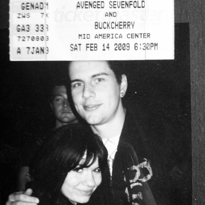 I need a time machine. #throwbackthursday #avengedsevenfold #mattshadows
