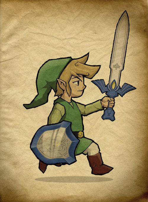 zeldamnonanza:  Link, The Hero of Winds by ~Paterack