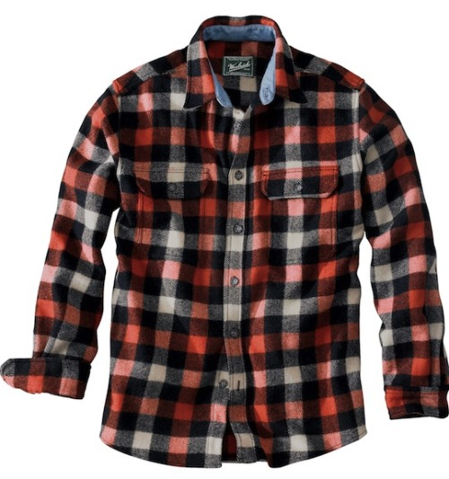 Woolrich Original Buffalo Check Wool Shirt