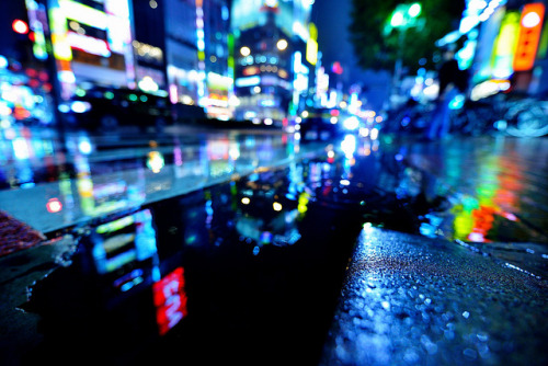 Day 291/366 : Yasukuni-Dori in the Rain by hidesax on Flickr.