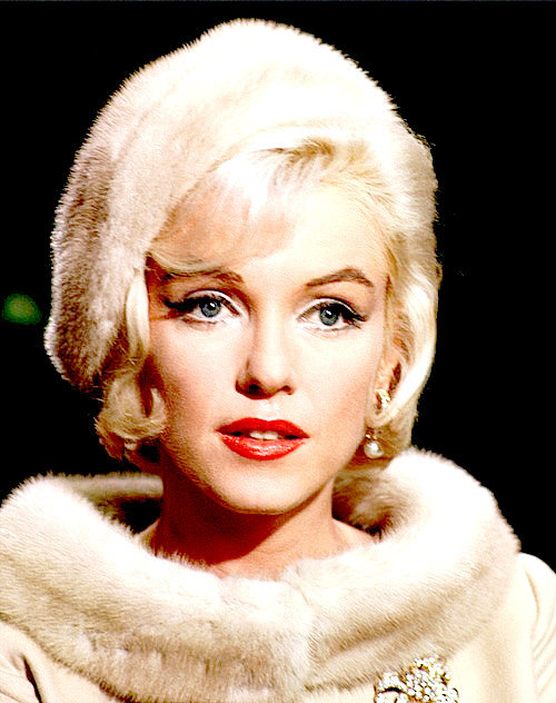 Marilyn Monroe photographed in 1962.