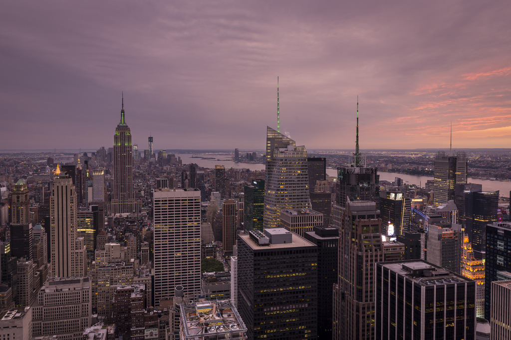 Top Of The Rock Sunset (by PhiiiiiiiL)