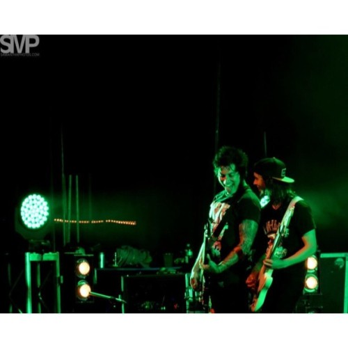 Jaime and Vic at the Warfield in SF