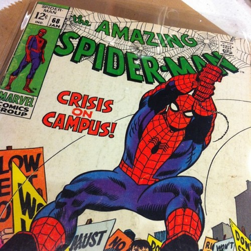 Bargain! Spider-Man #68 - $7.  (at C2E2)