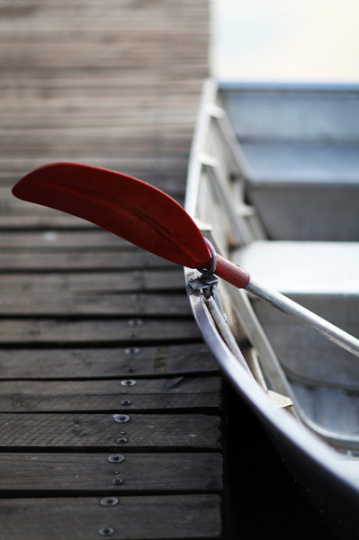 elorablue:  Rowing boat by AngelaBax on Flickr.