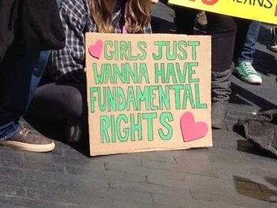 equalityandthecity:  Girls just wanna have fundamental rights.