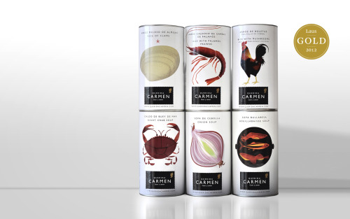 Querida Carmen - Spanish Food Packaging design by Grafica…