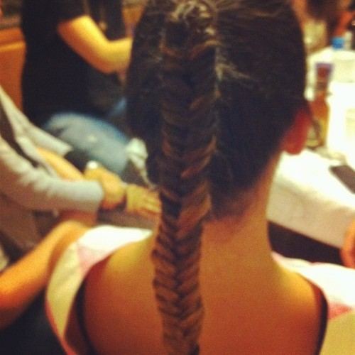 Pretty 🐠 #fishtailbraid #ombrehair