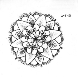 Tattoo Design  Drew this from an existing tattoo I found in an image. If you can find a better source, please add it.