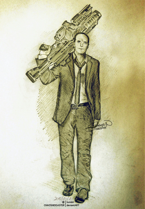 Coulson Lives by ChaosNDisaster