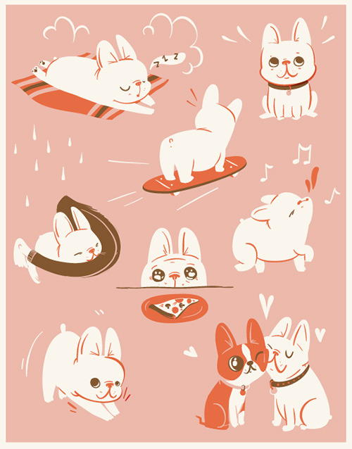 (via The Scratchbook: Lauren Gregg - Dog Milk)