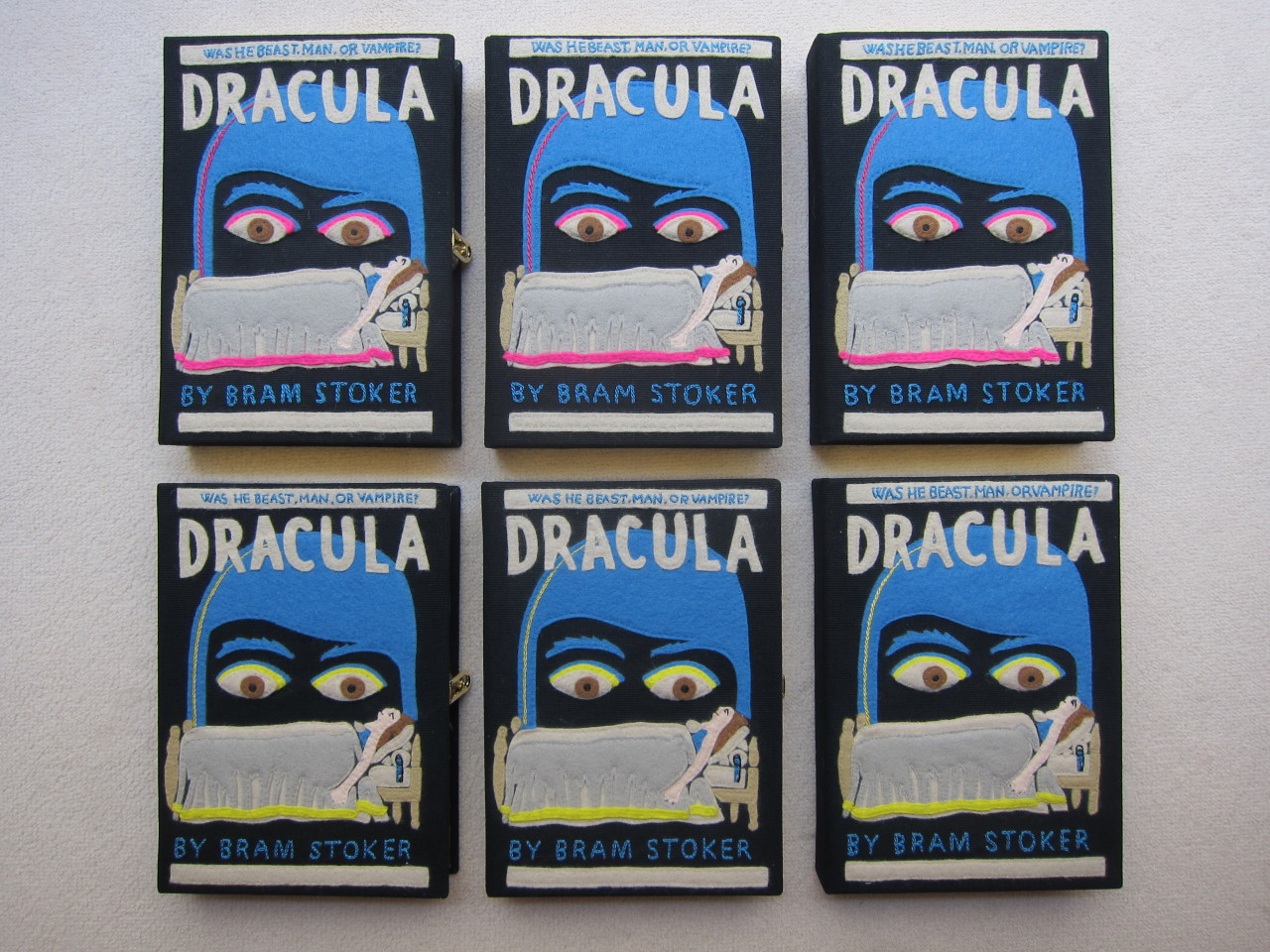 Dracula book-clutch by Olympia Le-Tan.