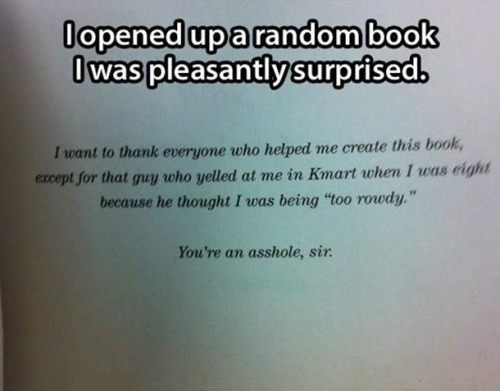 Best author's note ever!