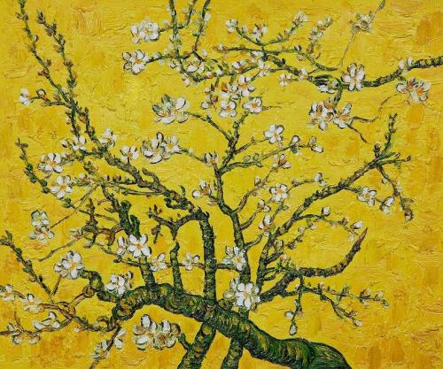 moderndelights:  Branches of an Almond Tree in Blossom, Vincent van Gogh