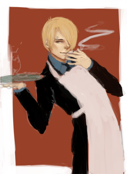 Sanji wip, I'm off to the bed now bye