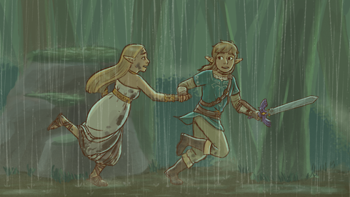 birkemakesart:  watched all the memories from botw again..