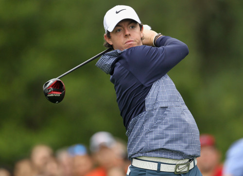 A -1 round puts Rory at -6, currently in second place