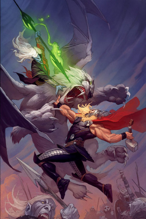 THOR: GOD OF THUNDER Art by Ron Garney