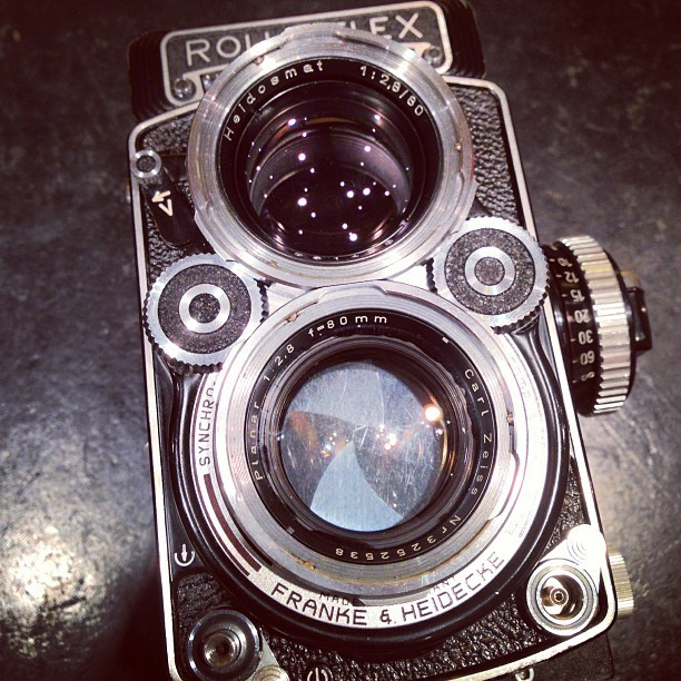 japancamerahunter:  The legendary planar #camera #cameraporn #japan #rollei