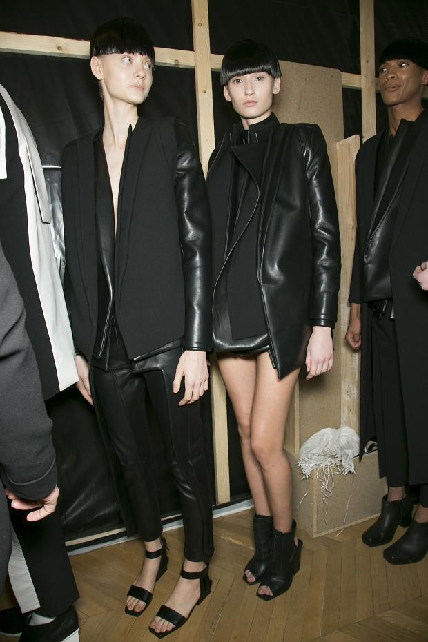 slick-owens:  RAD by Rad Hourani | SS13 Backstage