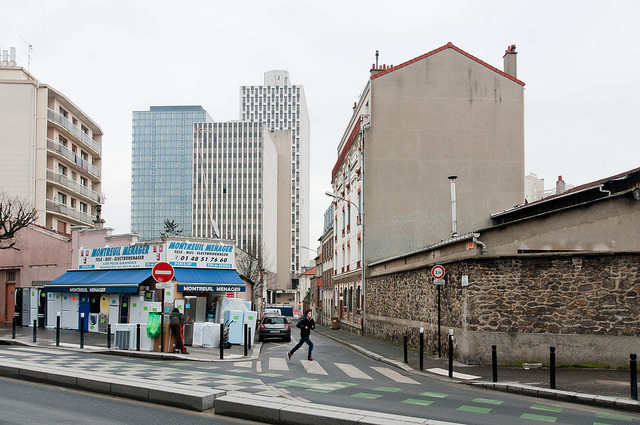Outlying: Montreuil on Flickr. © Will Crabb