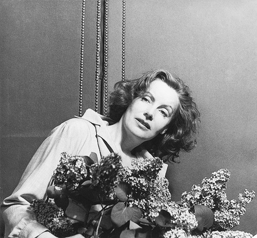 Greta Garbo in New York's Hotel Plaza, 1946. Photo by Cecil Beaton