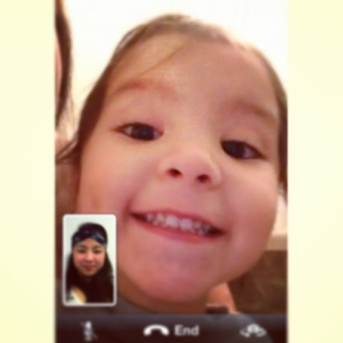 #tbt Face timing with my boo boo baby Scar 😘