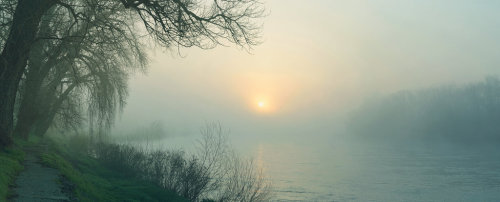 sweetlysurreal:  .:Misty River:. by ~bogdanici