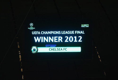 Champions League, 19 May 2012
