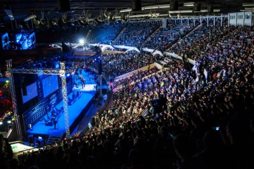 The crowd at Intel Extreme Masters - Katowice, Poland.