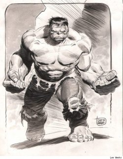 browsethestacks:  Hulk by Lee Weeks