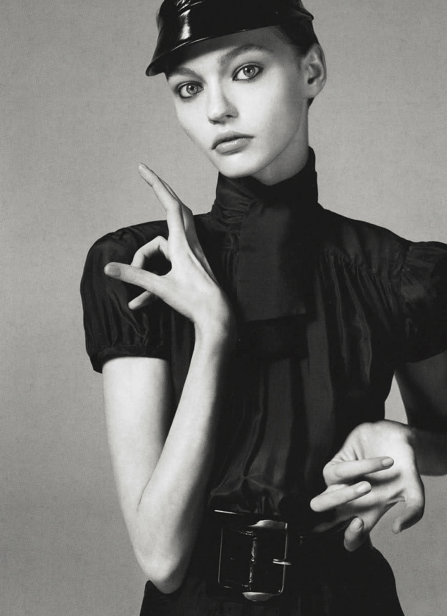 "surrealdiamonds:  ""Future Perfect"" Sasha Pivovarova for Vogue Italy 12/05Ph. Steven Meisel"