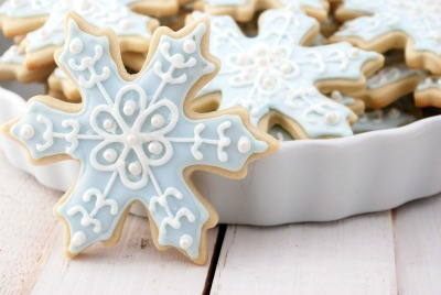 thecraving:  Snowflake Sugar Cookies