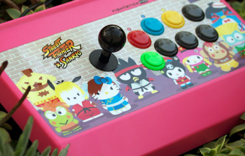Street Fighter x Sanrio Fight Stick by MadCatz