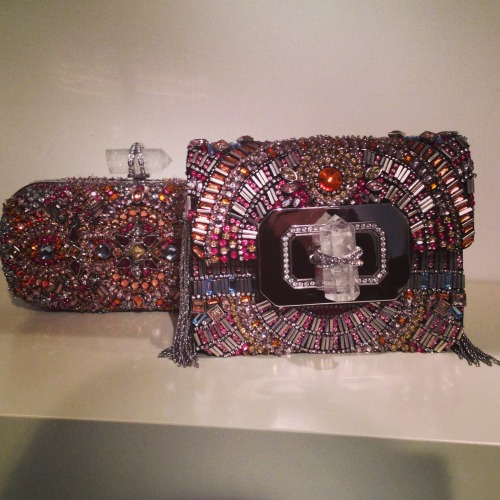 glamour:  gorgeous embellished Marchesa evening bags -Via @MDuenasJacobs instagram