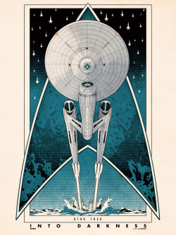 serialthrill:  Star Trek: Into Darkness Poster by Matt Ferguson