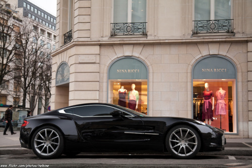 automotivated:  Aston Martin One-77 (by Telkine)