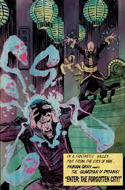 FIVE GHOSTS #3 is in stores today. Besides being one of the best books on shelves it also contains the second installment of our series INTELLECTUAL PROPERTY. With art by the always awesome Jason Copland, Shaky Kane, and Sloane Leong, we are really proud of this one. Head to your local comic shop now and give it a read.