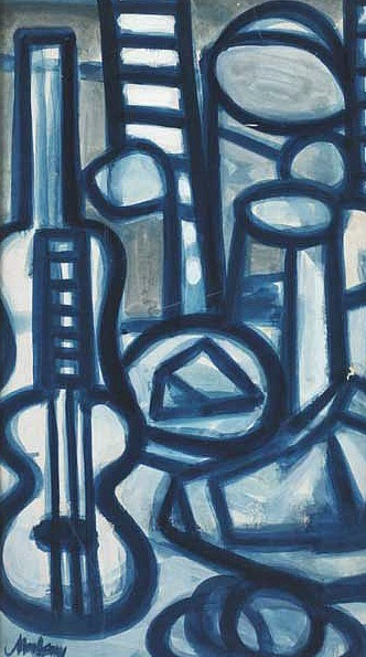 Markey Robinson Blue Still Life 1962