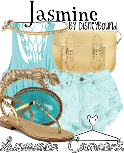 "disneybound:  Buy it here! Have you noticed the new ""Summer Concert"" collection by DisneyBound? This is a series meant for those attending day-long outdoor summer events. This collection is also great for those wanting to DisneyBound at the parks on hot Florida and California days, while still looking trendy."