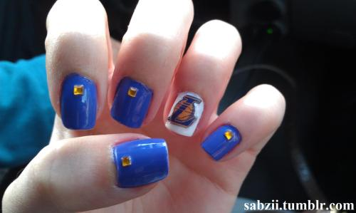 Los Angeles Lakers Nails